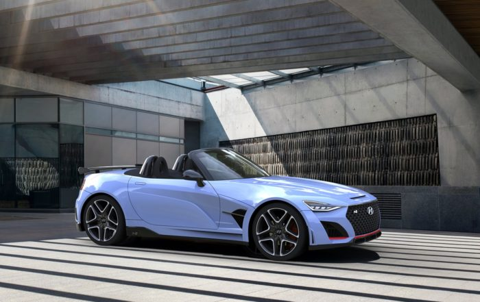Hyundai N roadster side