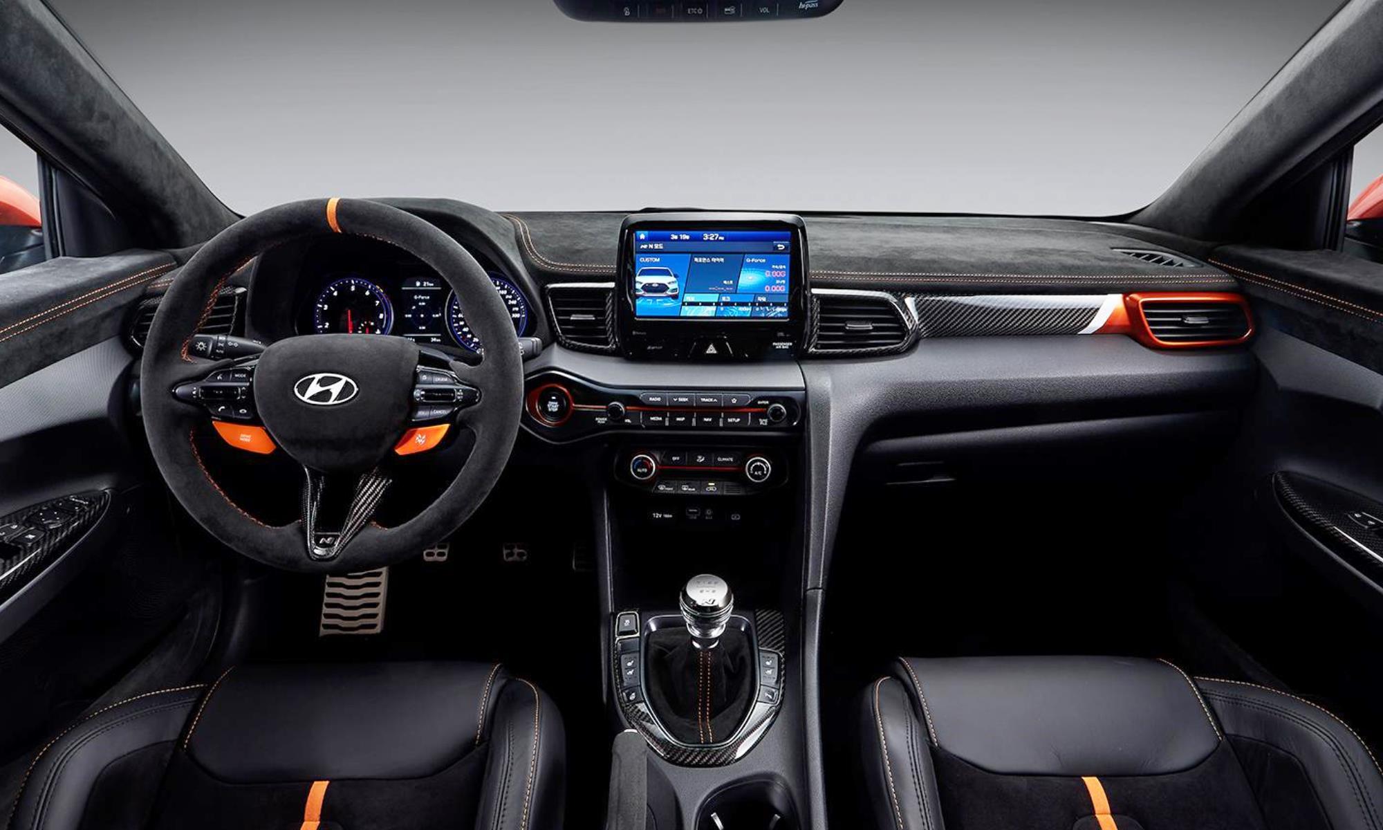 Hyundai Veloster N Performance interior