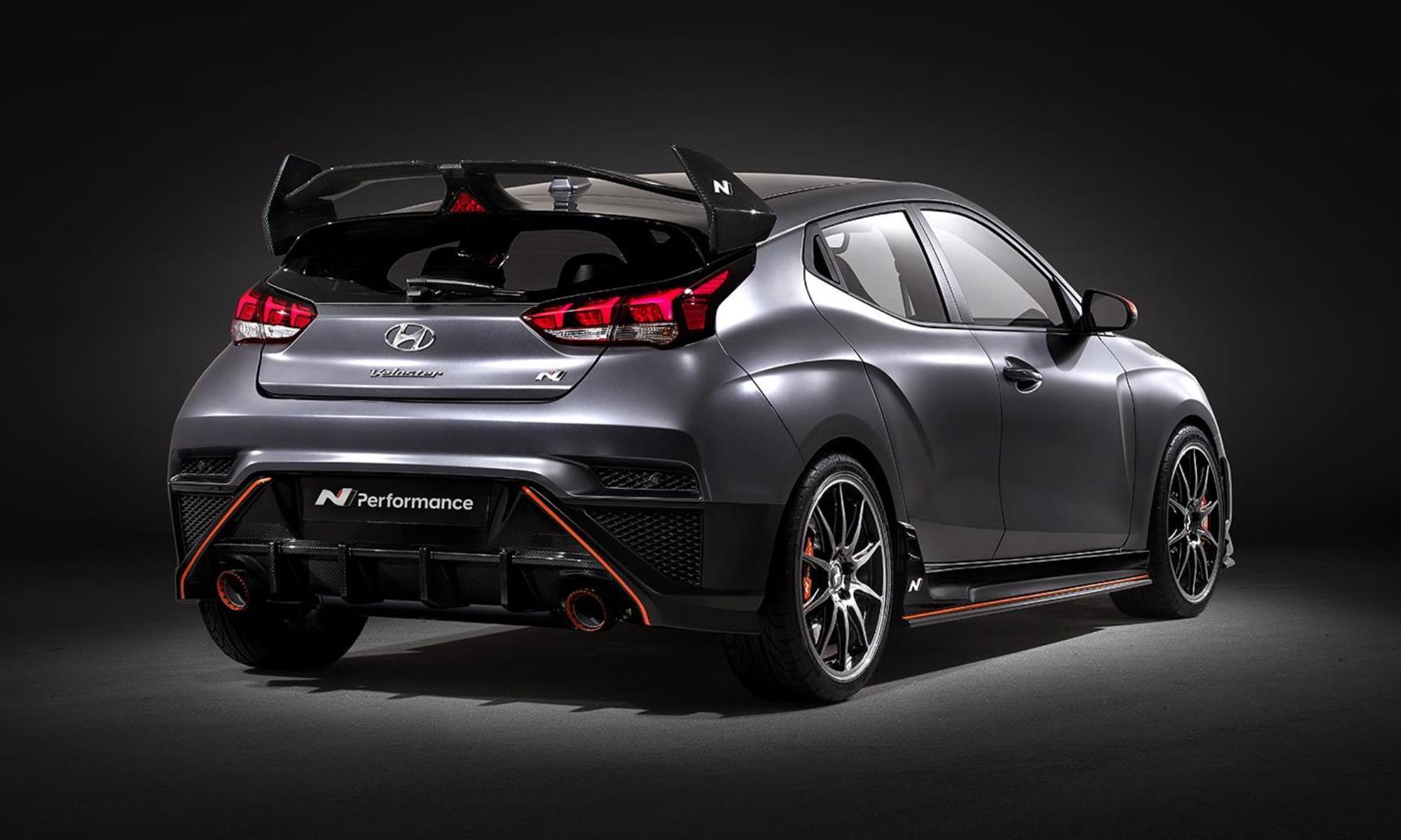 Hyundai Veloster N Performance rear