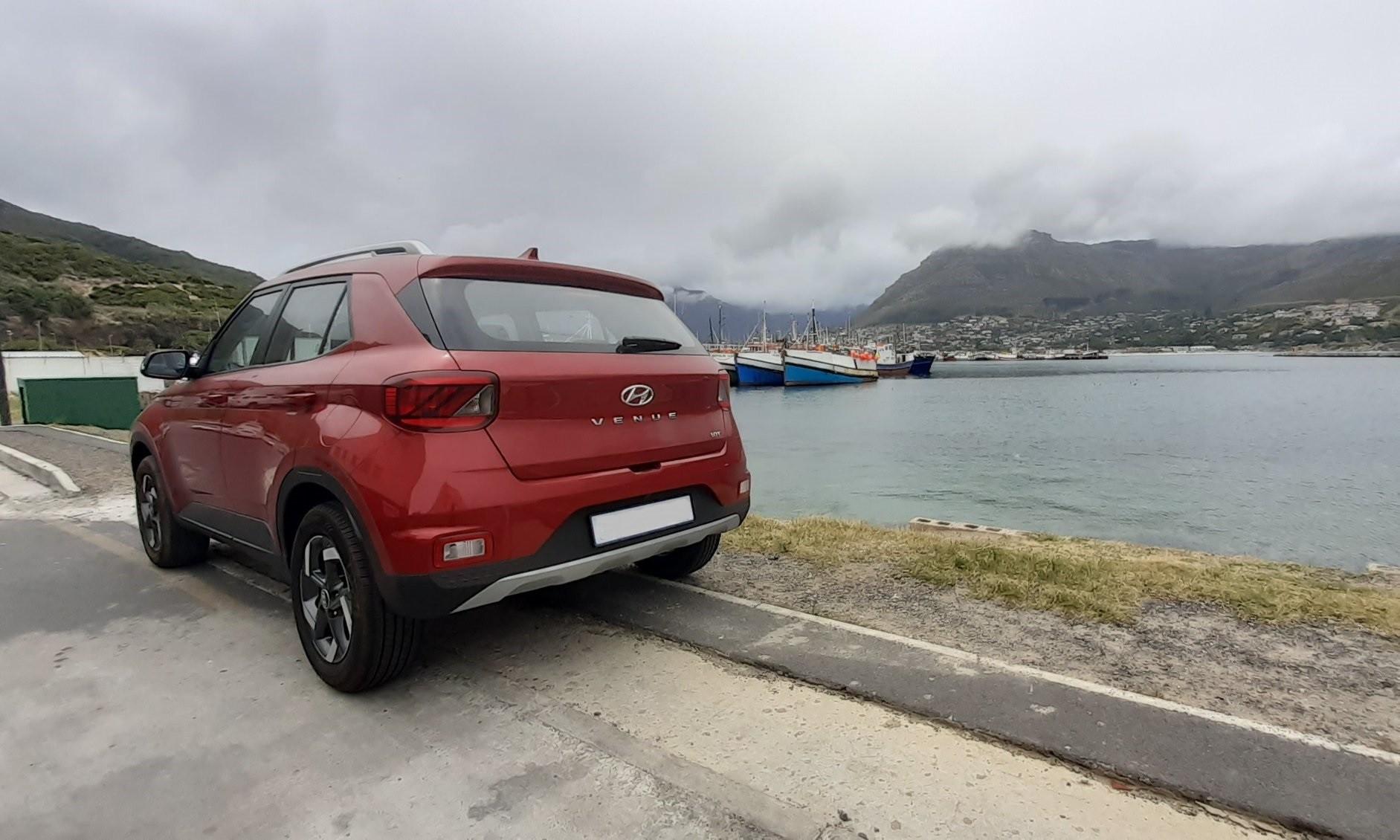 Hyundai Venue Driven rear