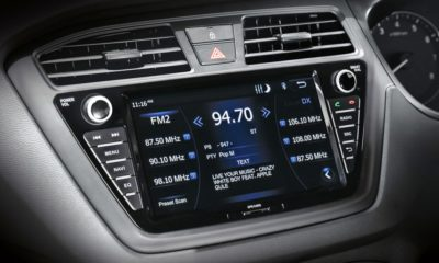 Hyundai i20 Active infotainment screen