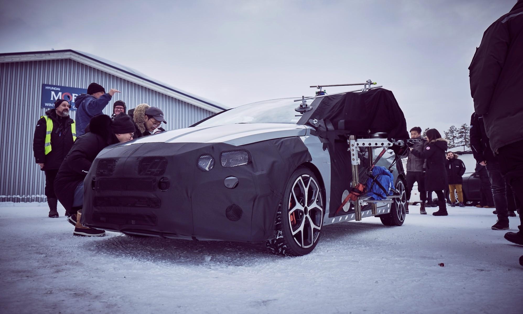 Hyundai i20N Prototype testing