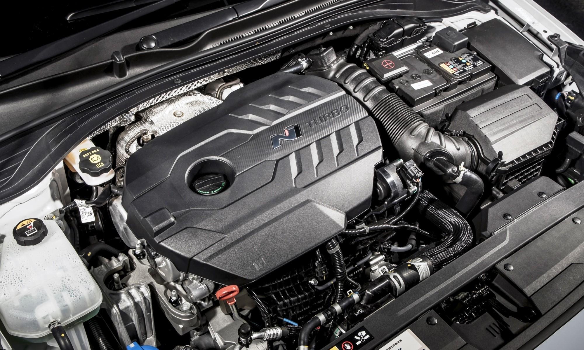 Hyundai i30N engine