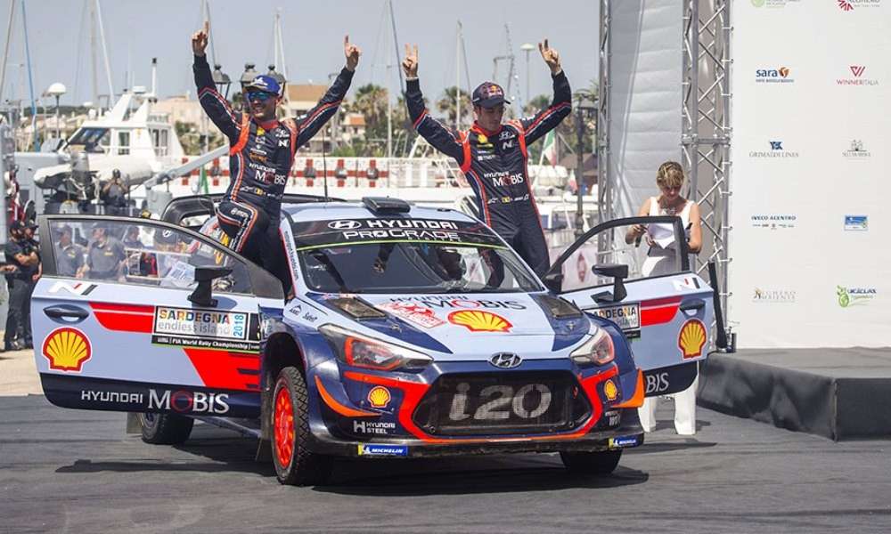 Hyundai won in Italy