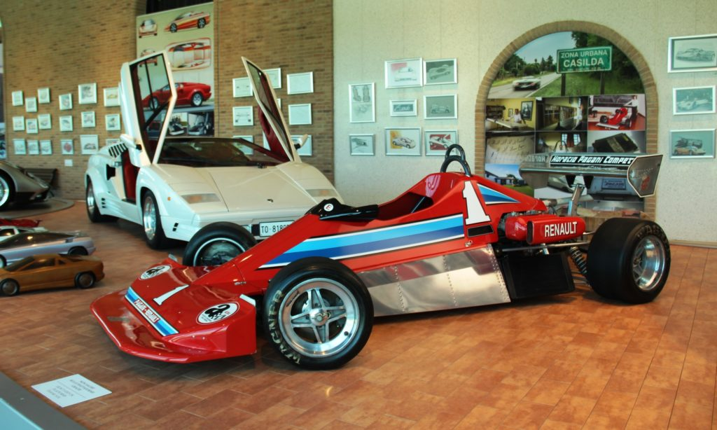 One of Horacio Pagani's earliest projects