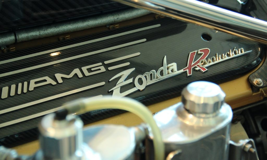All Paganis are powered by AMG engines