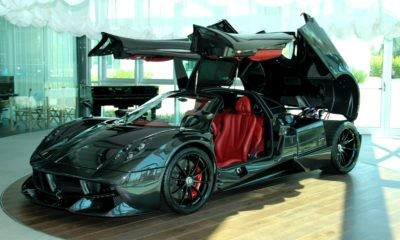 The Pagani Huayra