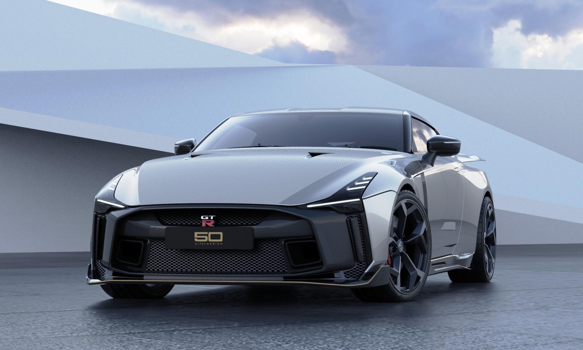 Italdesign Nissan GTR-50 front