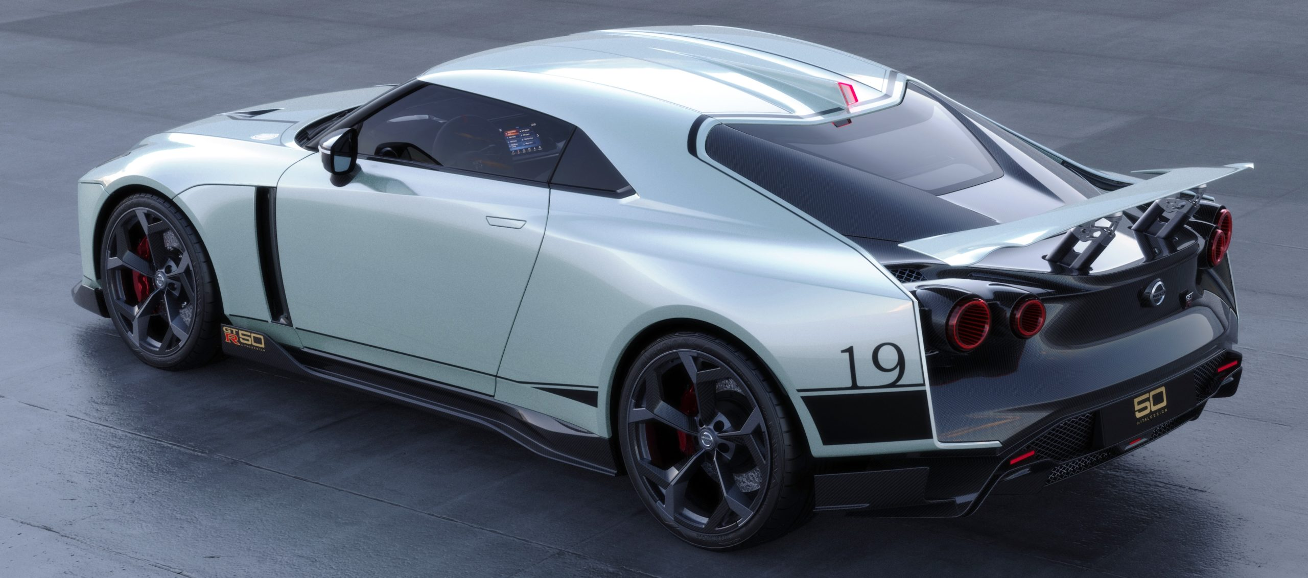 Italdesign Nissan GTR-50 top