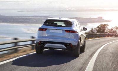 Jaguar E-Pace rear