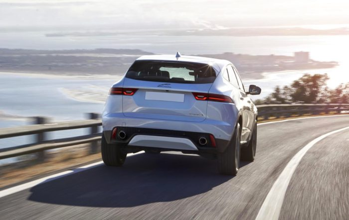 Jaguar E-Pace rear