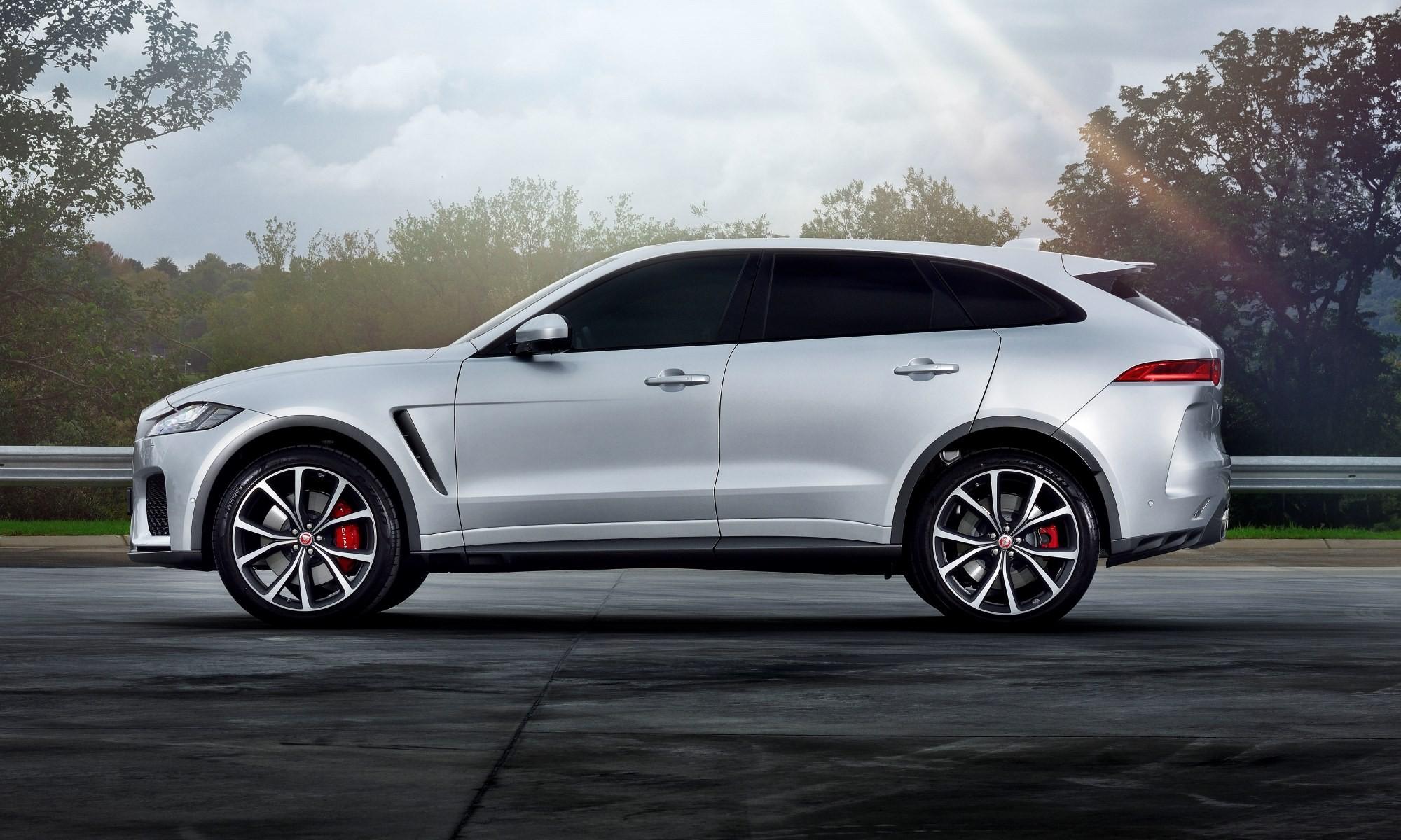 Jaguar F-Pace SVR profile