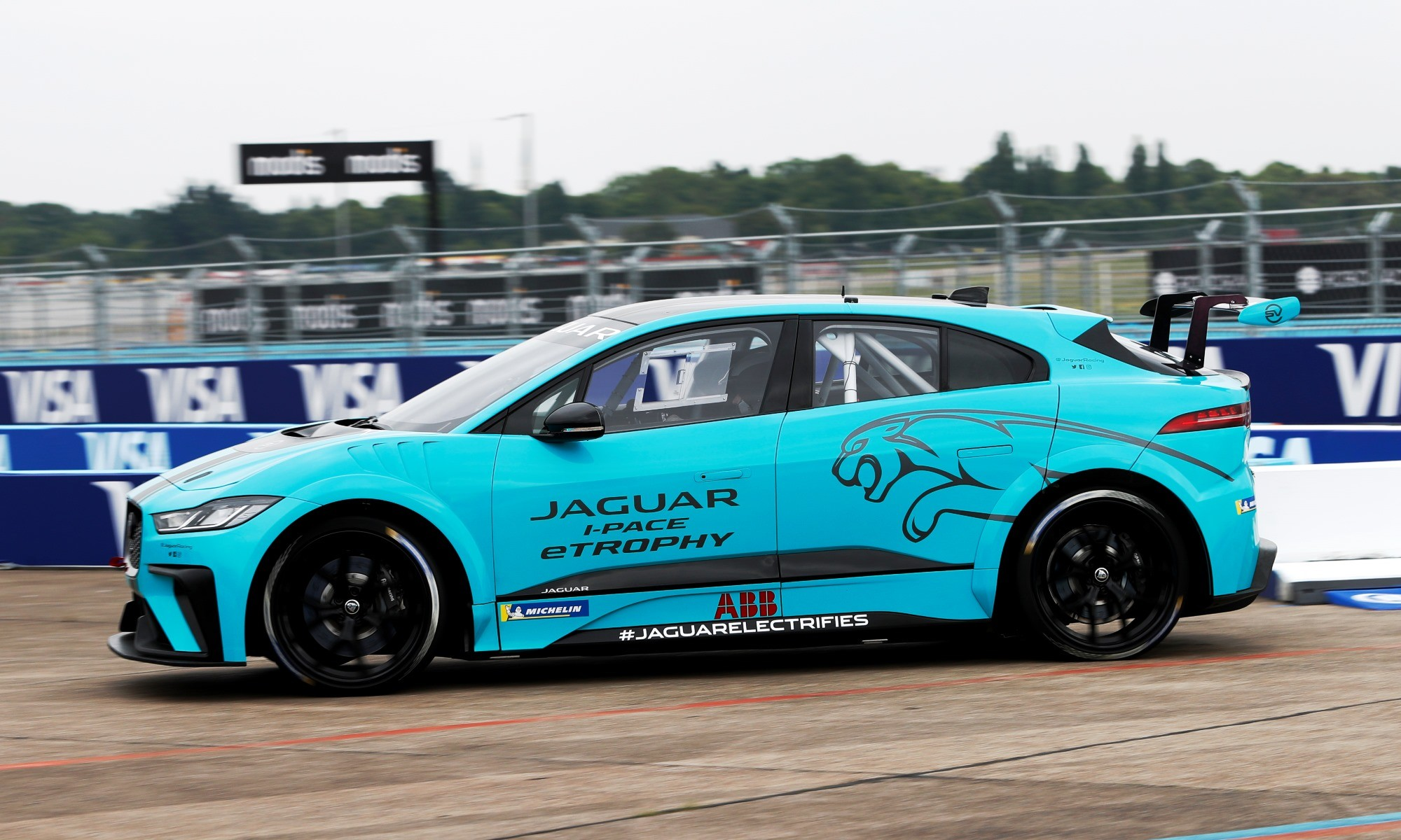 Jaguar I-Pace eTrophy profile