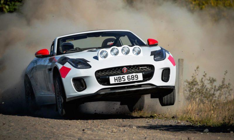 Jaguar Rally Car