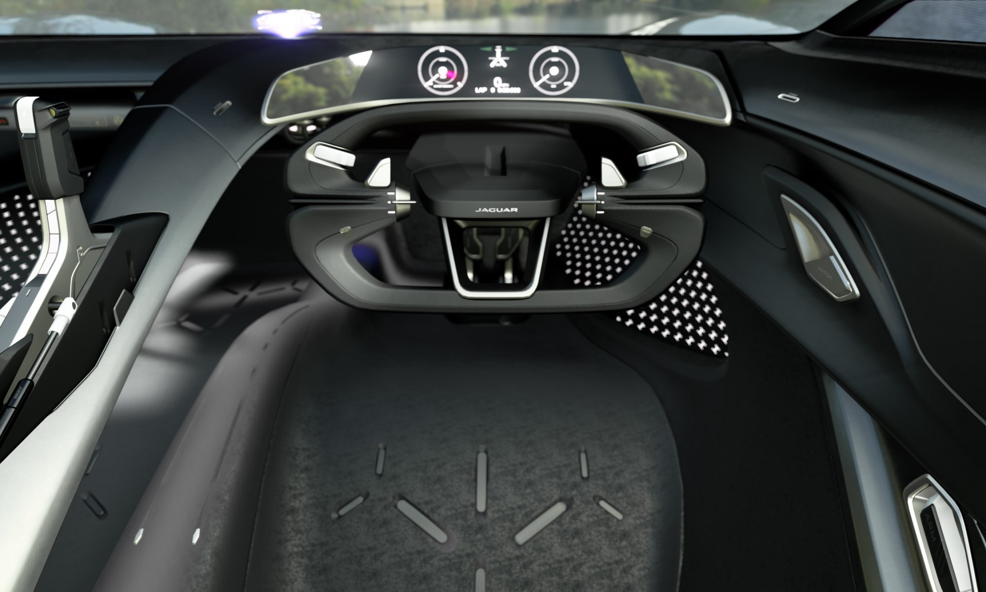 Jaguar Vision Gran Turismo Coupe interior