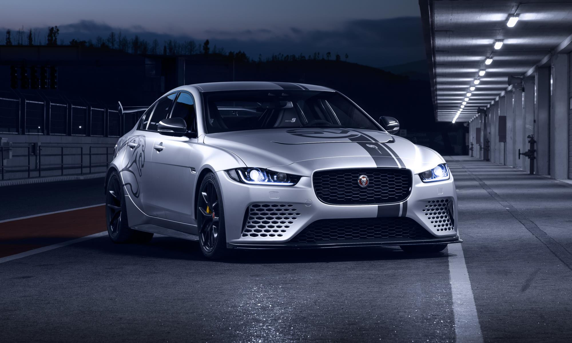 Jaguar XE SV Project 8 front static