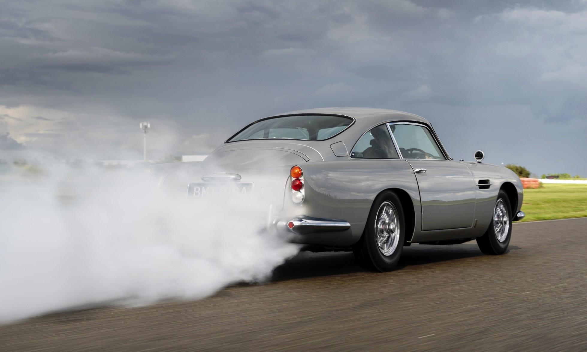 James Bond Aston Martin DB5 rear