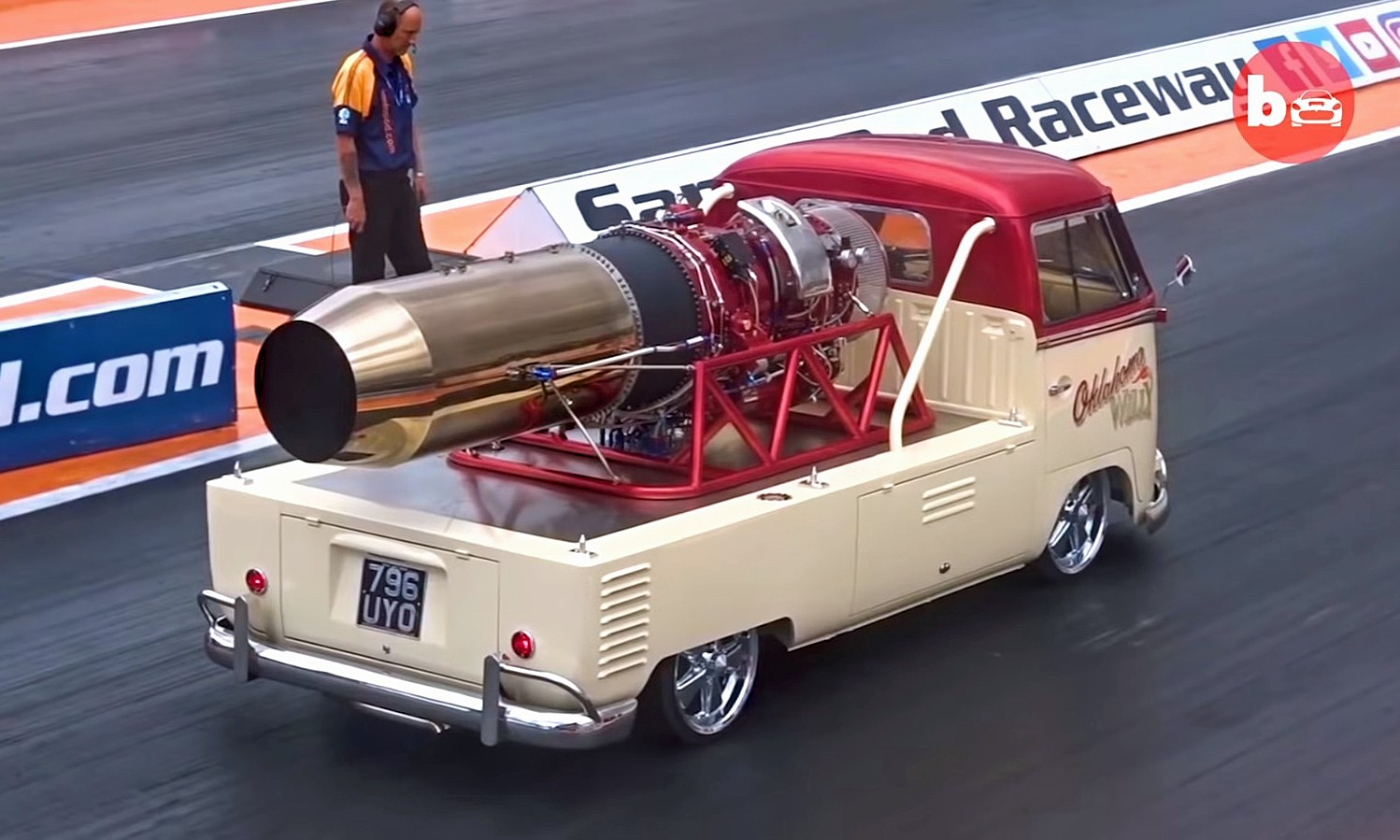 Jet Powered VW Bus 1