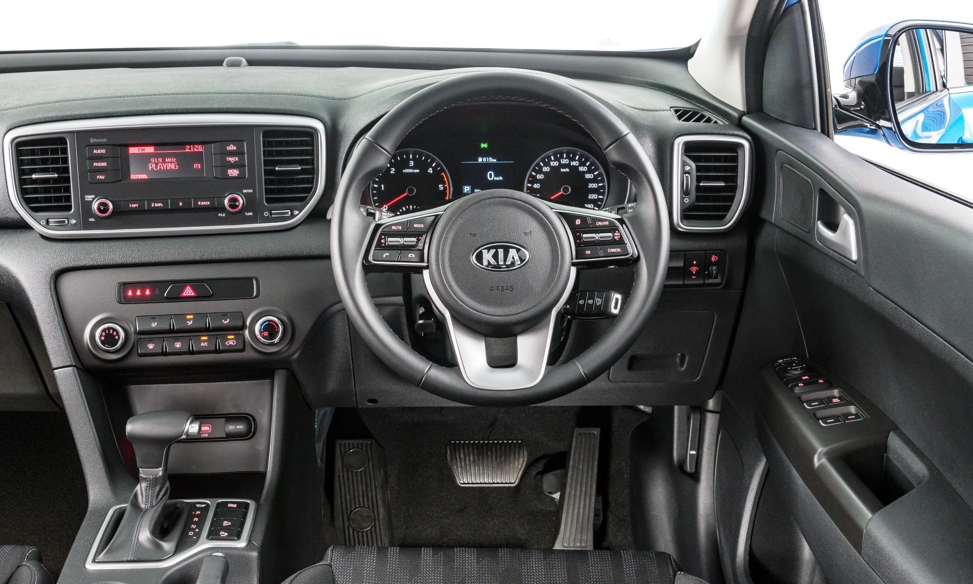 KIA Sportage 1,6 GDI Ignite interior