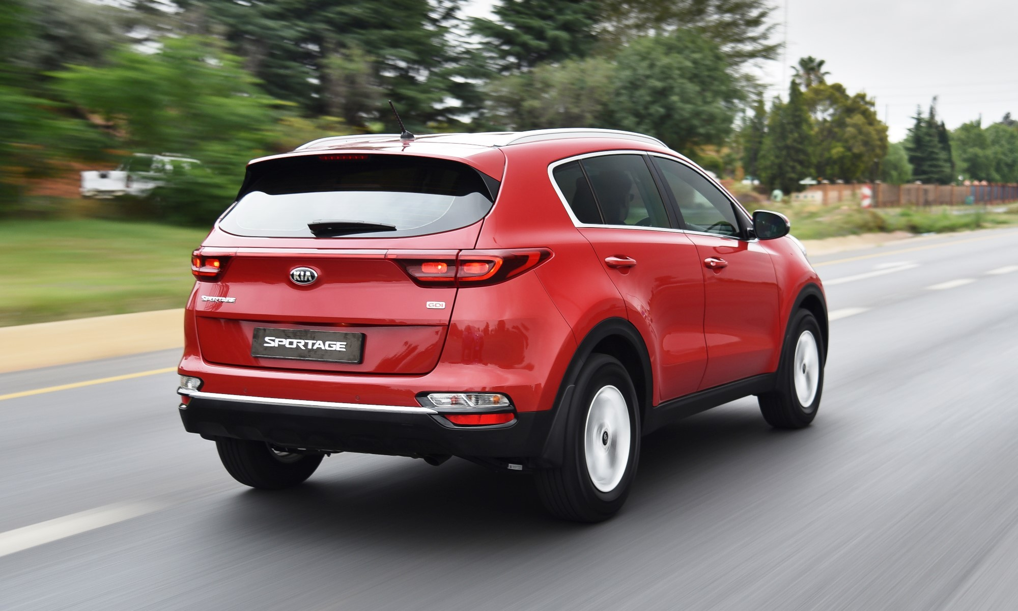 KIA Sportage 1,6 GDI Ignite rear