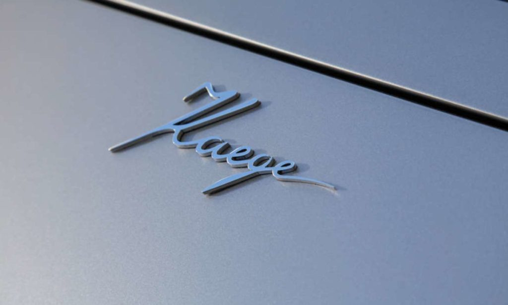 Kaege Retro Porsche badge