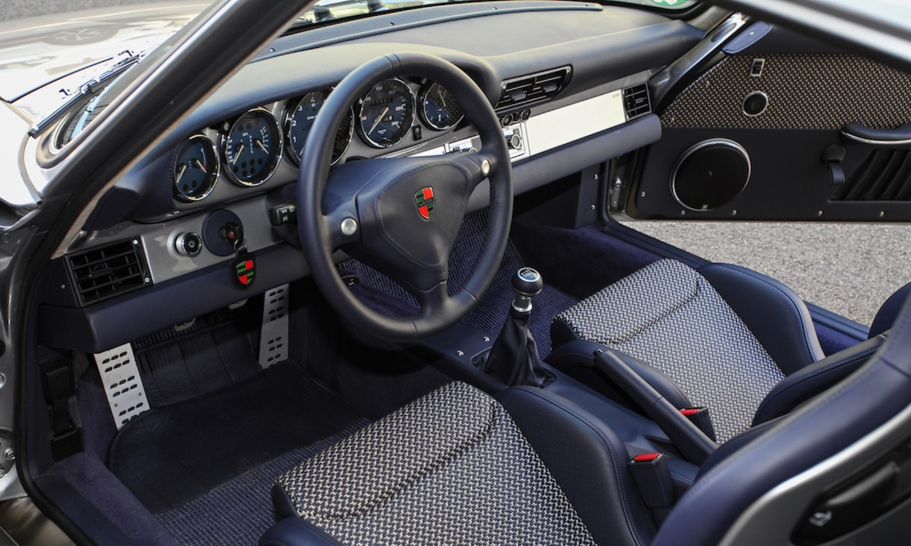 Kaege Retro Porsche interior facia