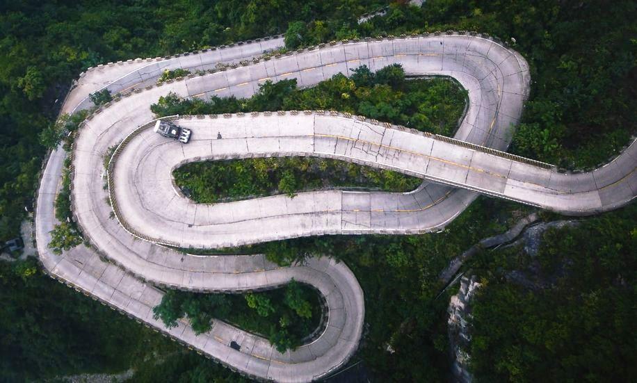Ken Block's Climbkhana Tianmen Mountain 3