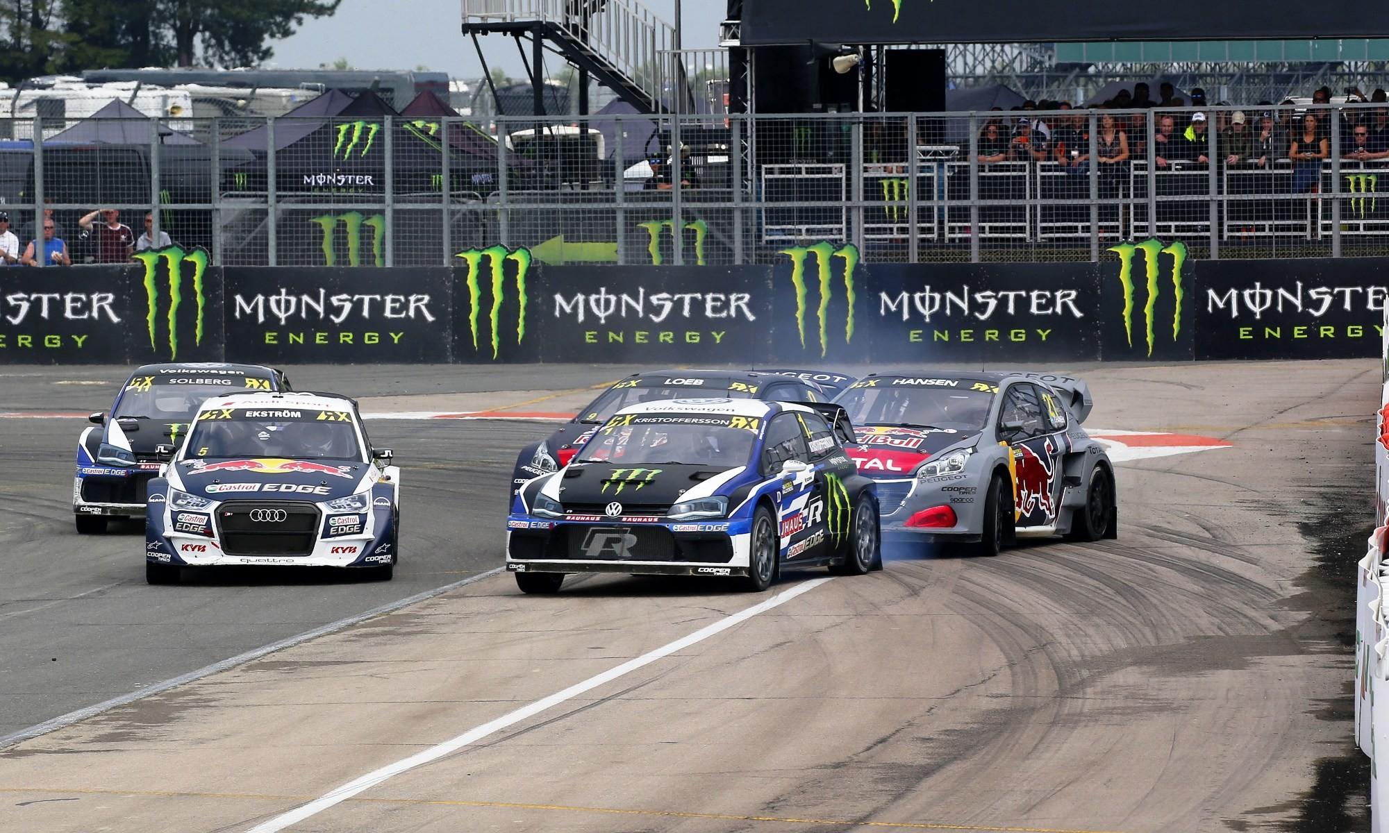 Kristofferson wins FIA RX Silverstone
