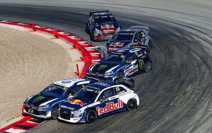 Kristofferson won round 8 of the FIA RX series