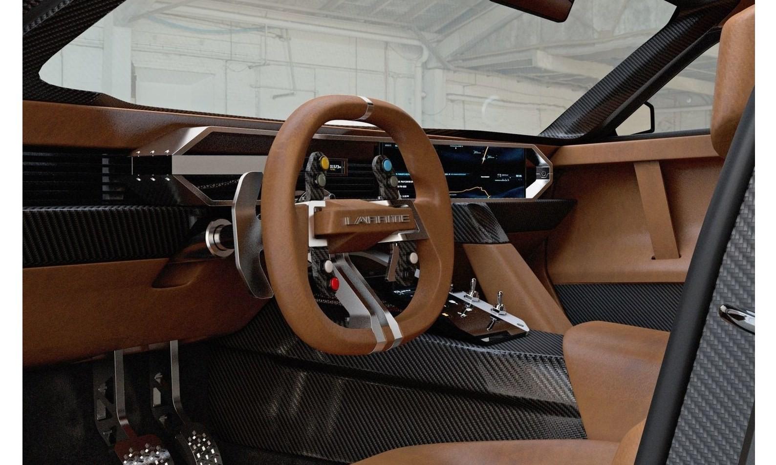 Laffite G-Tec X-Road interior
