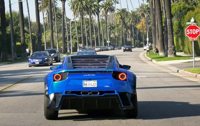 Laffite X-Road Supercar on road