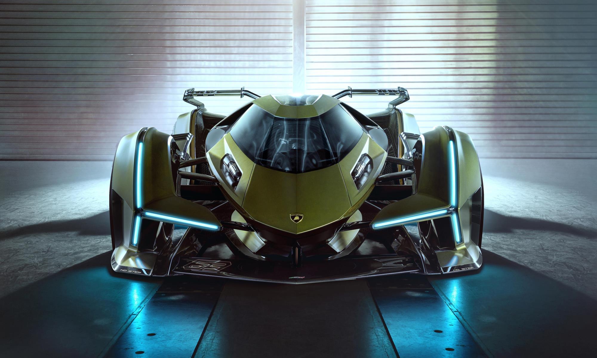 Lambo V12 Vision GT front