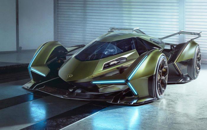 Lambo V12 Vision GT front side