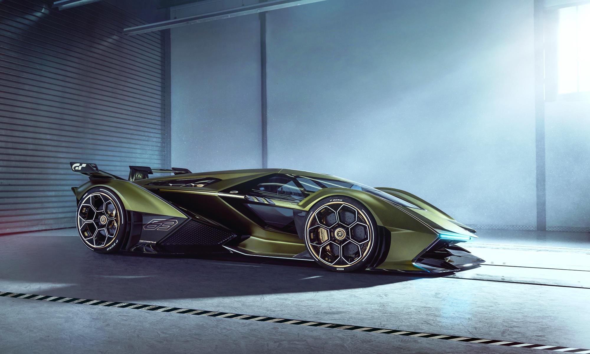 Lambo V12 Vision GT side