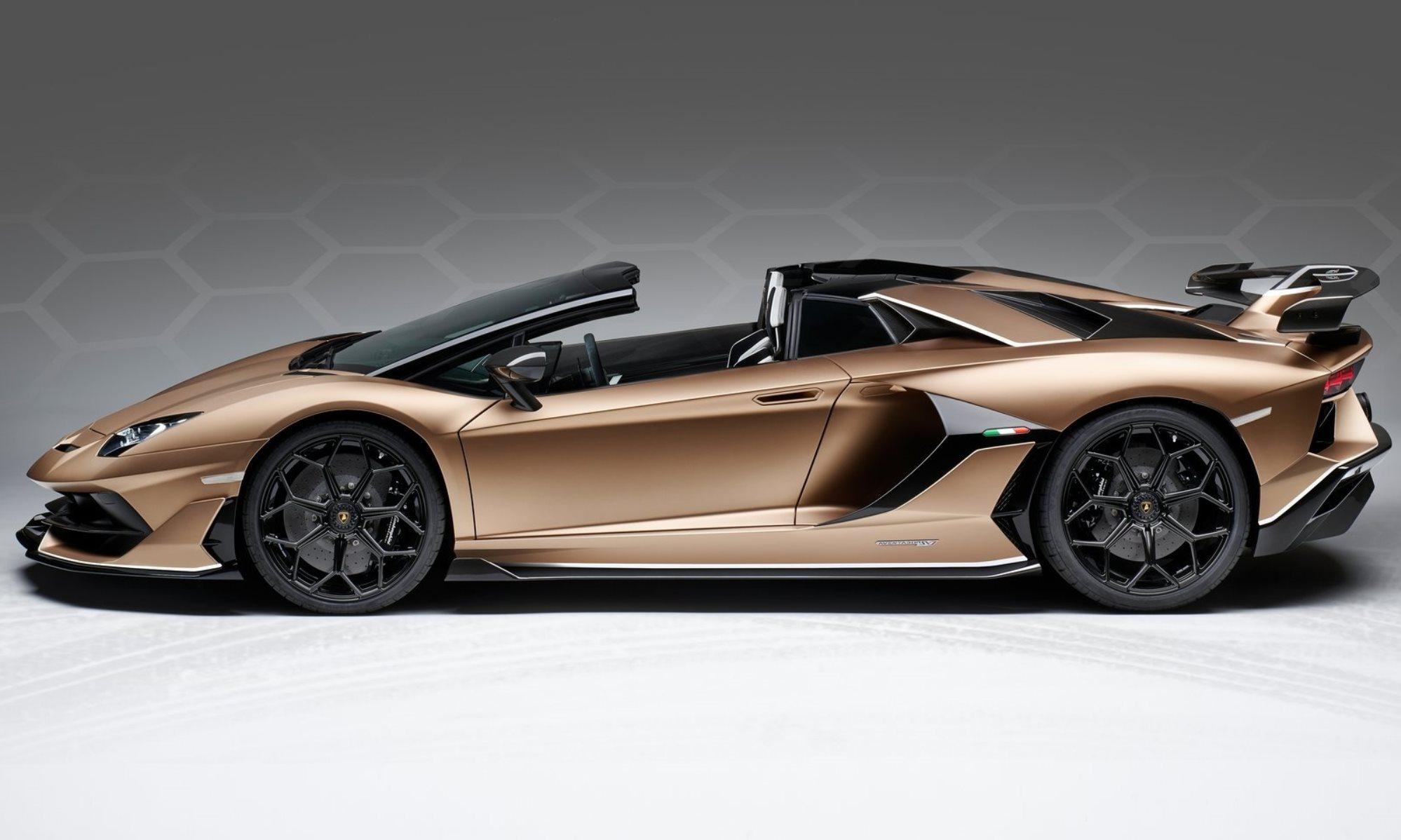 Lamborghini Aventador SVJ Roadster profile