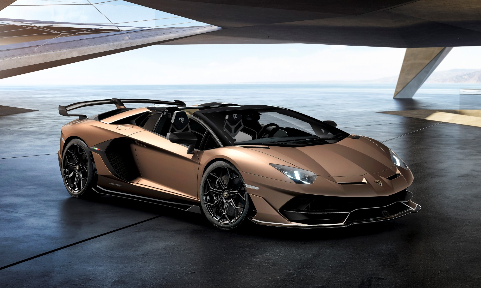 Lamborghini Aventador Svj Roadster Launched At Geneva Motor Show