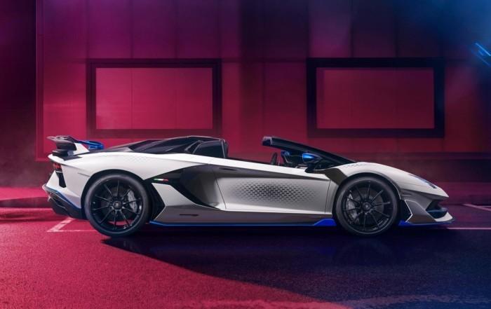 Lamborghini Aventador SVJ Xago profile