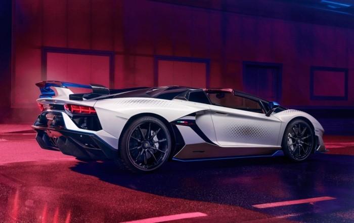 Lamborghini Aventador SVJ Xago rear