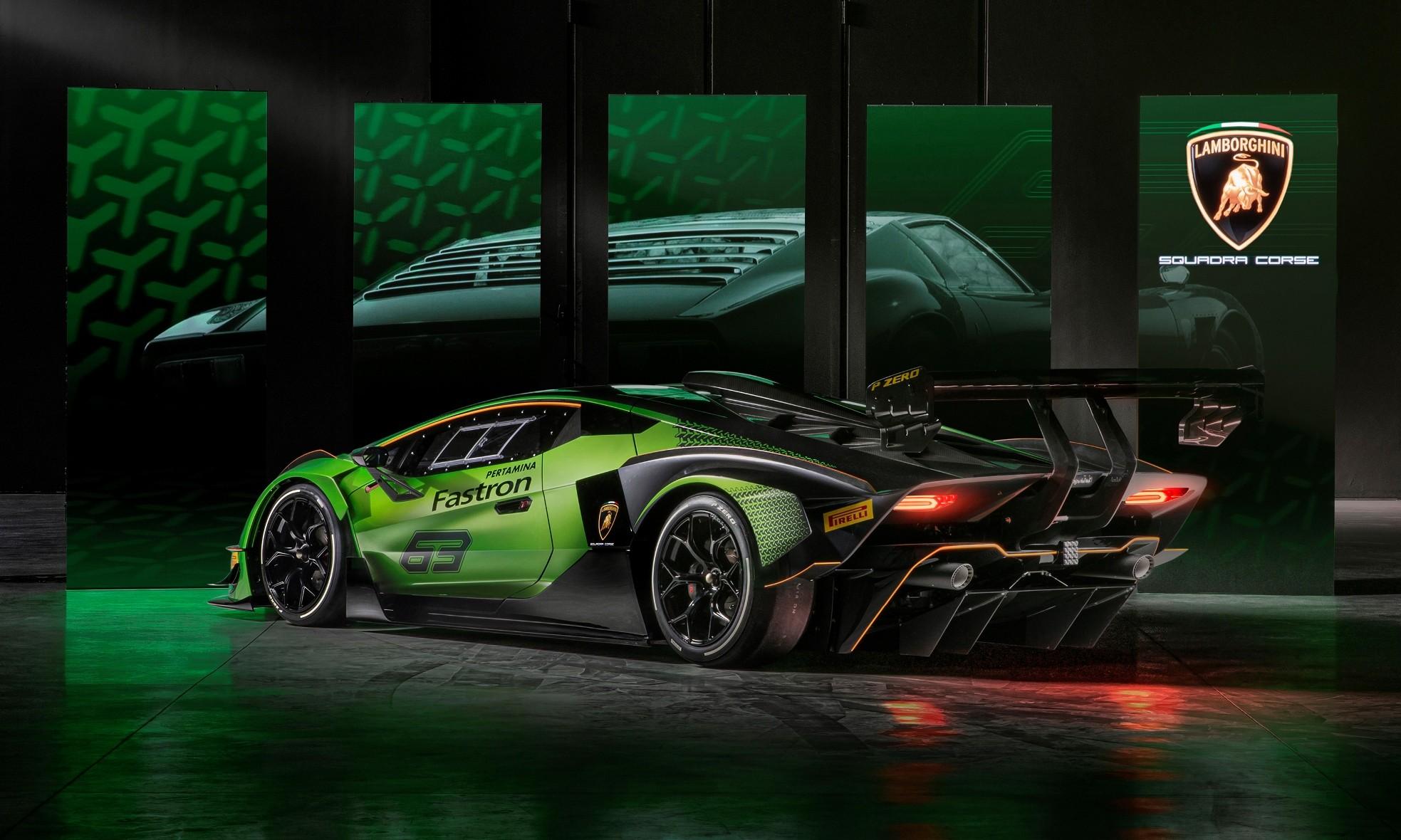 Lamborghini Essenza SCV12 rear