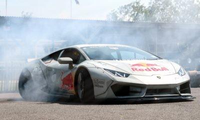 Lamborghini Huracan Drifting 2