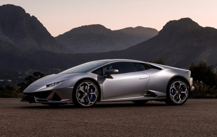 Lamborghini Huracan Evo driven profile