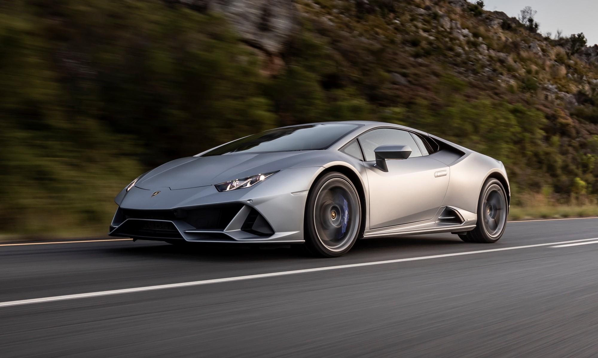 Lamborghini Huracan Evo driven