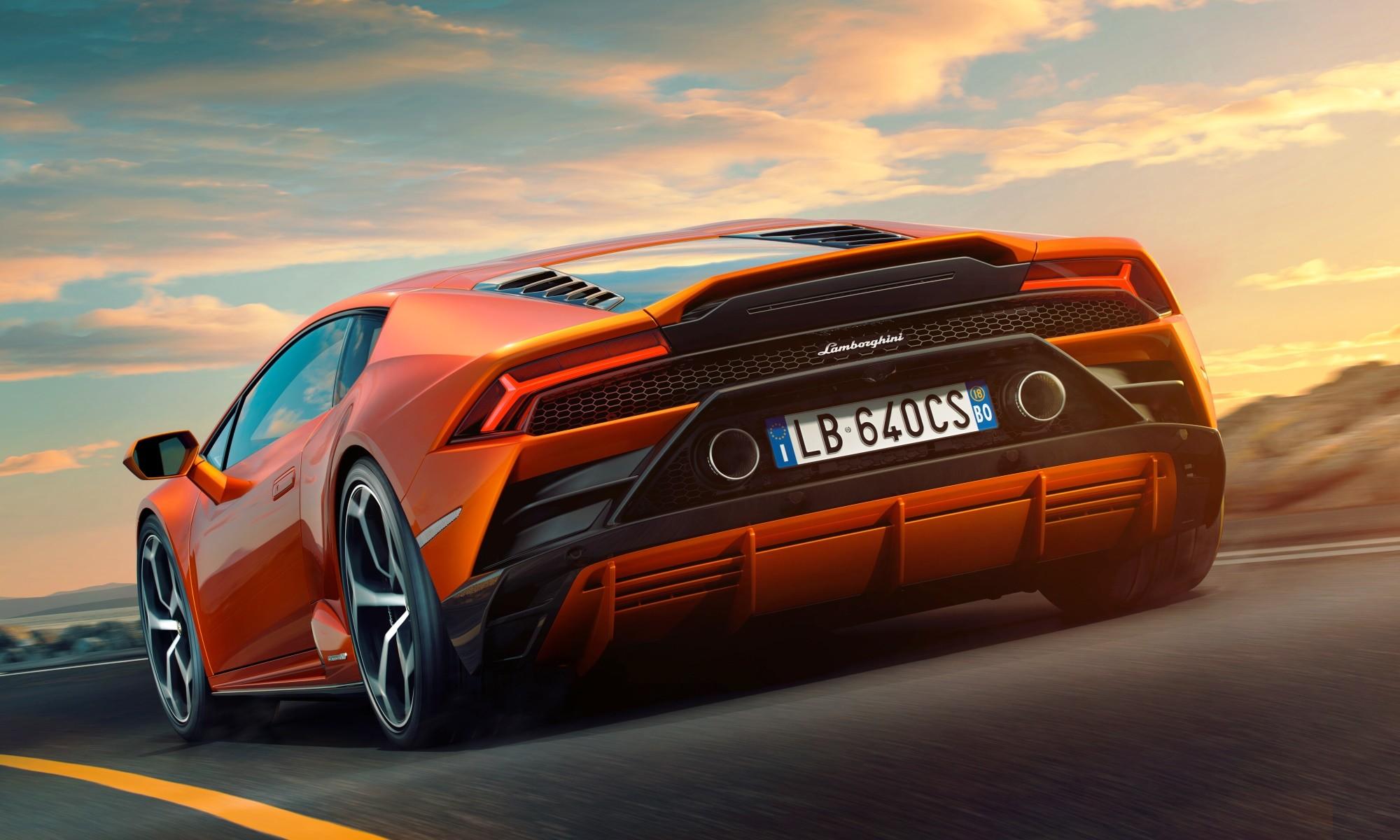 Lamborghini Huracan Evo rear