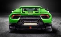 Lamborghini Huracan Performante rear