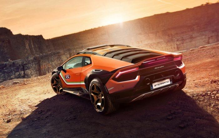Lamborghini Huracan Sterrato rear