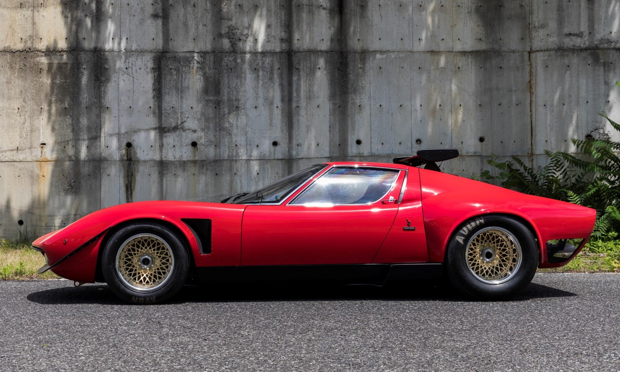 Lamborghini Miura SVR profile