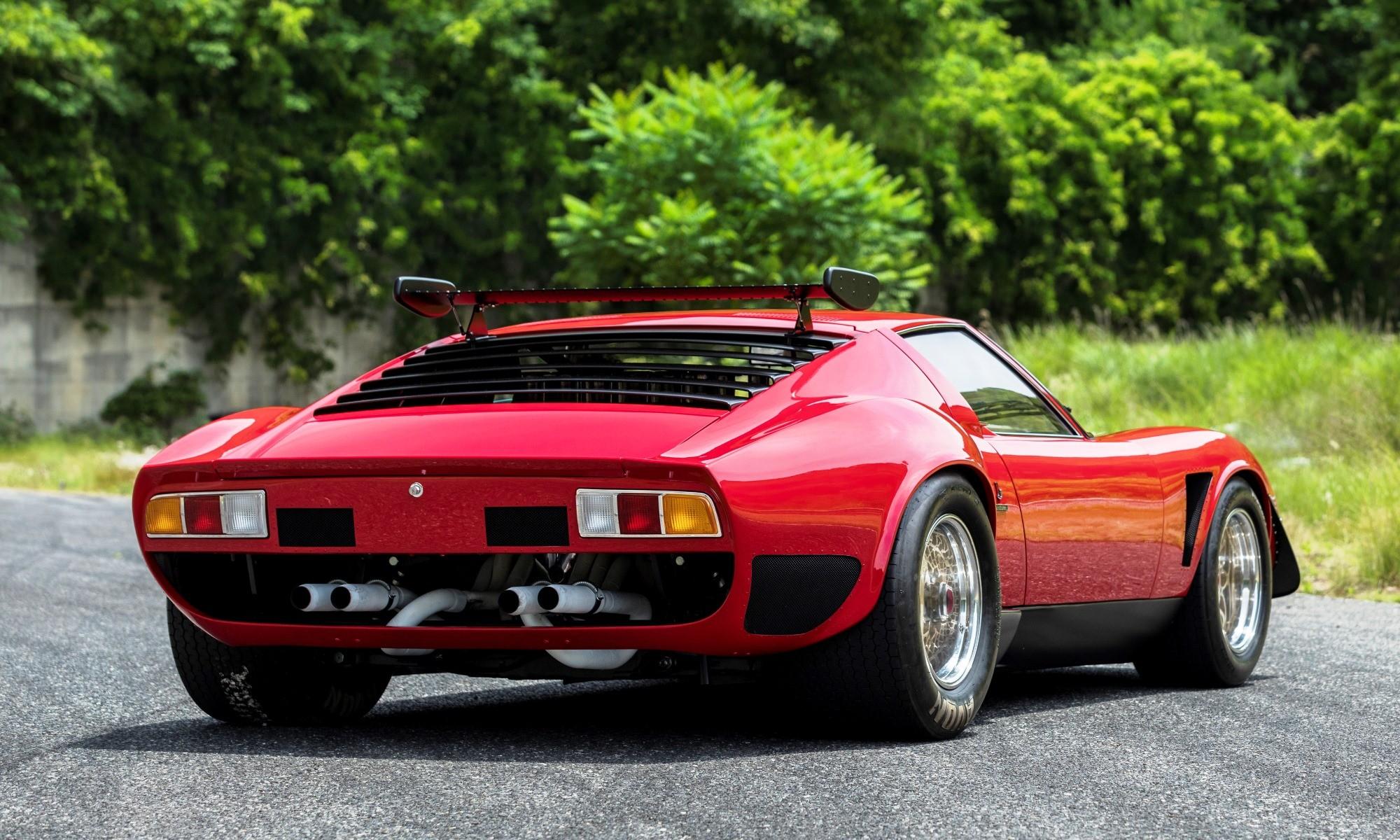 Lamborghini Miura SVR rear