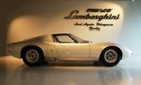 Lamborghini Museum features a beautiful Miura