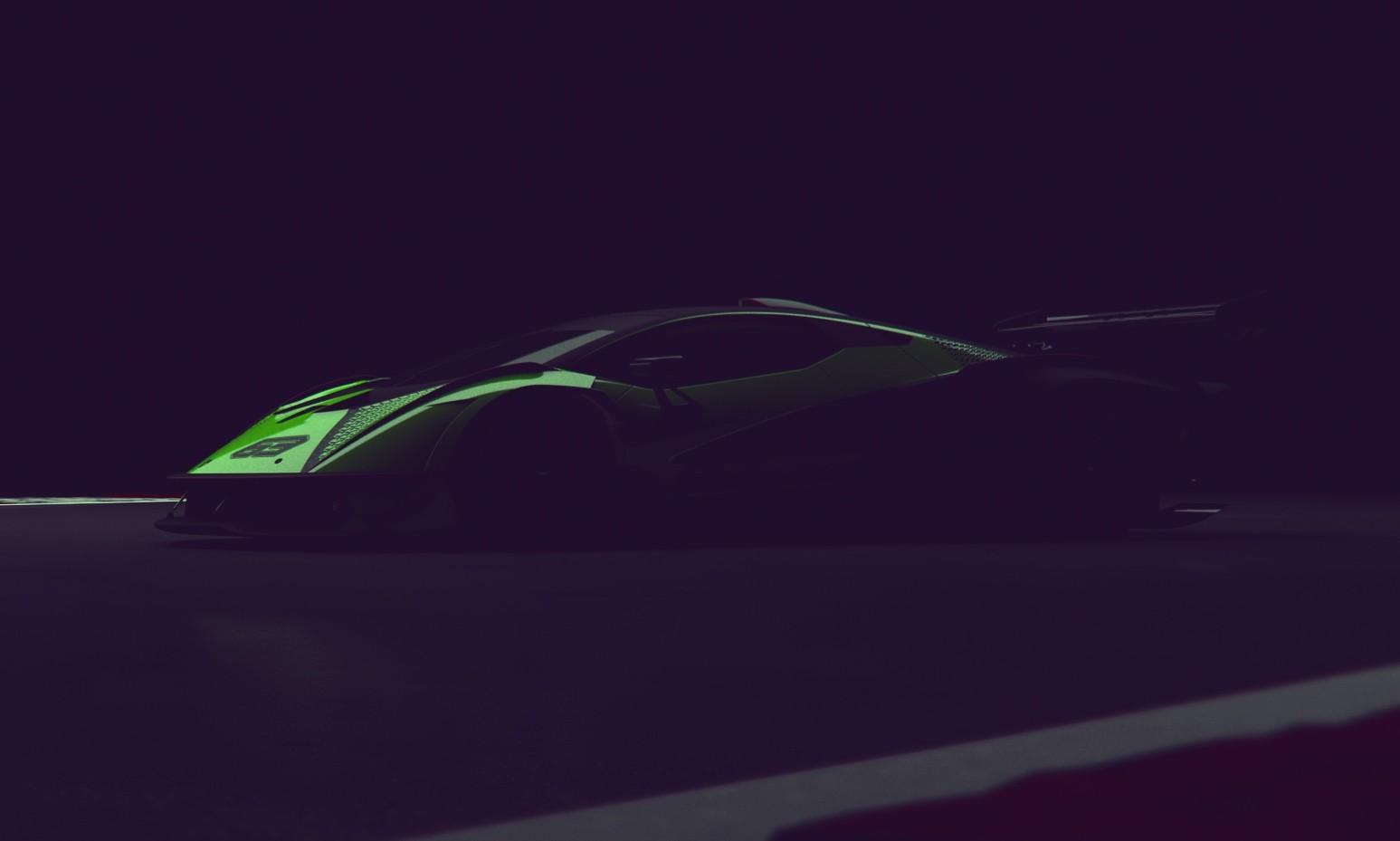 Lamborghini Racers hypercar