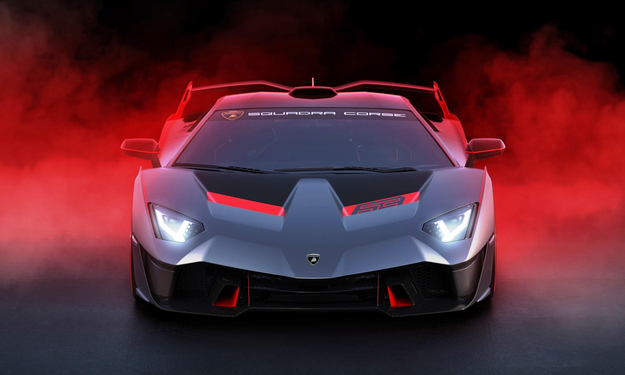 Lamborghini SC18 Alston front